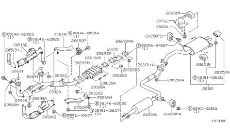 1999 nissan maxima exhaust system diagram 2000 nissan maxima engine diagram automotive parts