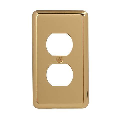 amerelle grayson 1 duplex wall plate copper and the home amerelle continental 1 duplex wall plate nickel 94dn