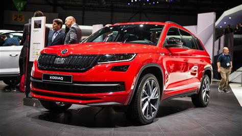 skoda kodiaq sportline skoda kodiaq sportline looks faster but it isn t
