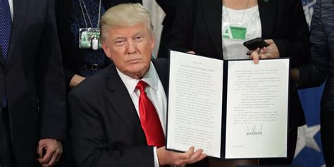 Executive Order president trumps executive orders on immigration and
