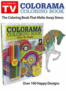 color me coloring book colorama color me happy book as seen on tv