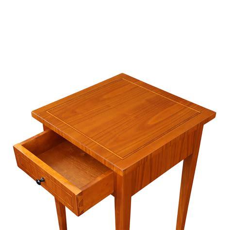 schublade innen kleiner kirschbaumtisch 40 x 40 bei stilwohnen de