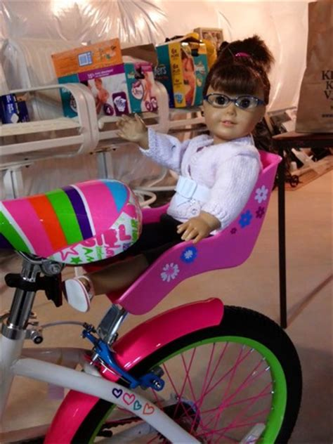american bike seat doll bicycle seat with decorate yourself decals fits 18