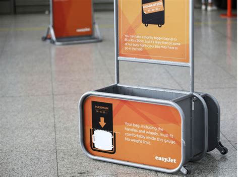 cabin baggage easyjet airlines shrink cabin baggage size allowance in new