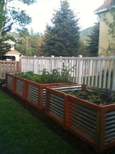 corrugated metal raised garden beds raised garden beds corrugated steel and cedar for my