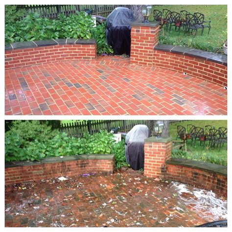 cleaning brick patio how to clean patio bricks icamblog