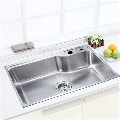 304 large capacity single bowl kitchen sink 351 99