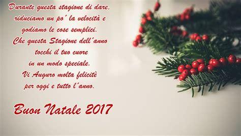 testi natalizi buon natale 2017 frasi auguri immagini biglietti di