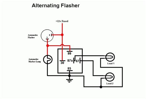 flasher relay wiring diagram for car wiring diagram manual