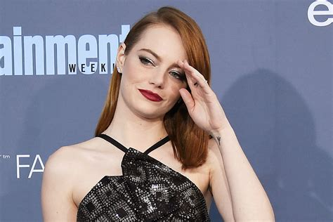 emma stone rolling stone emma stone claims directors have stolen her jokes