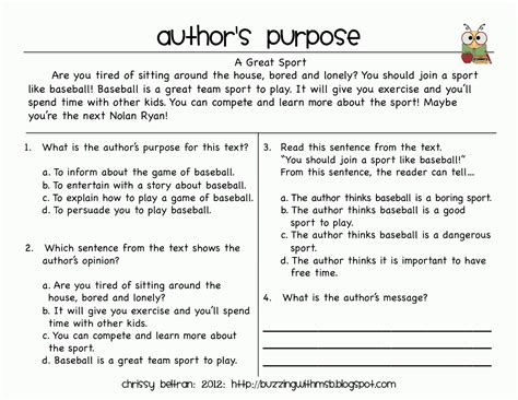 forty years of practice finding purpose in books authors purpose worksheets for the knownledge