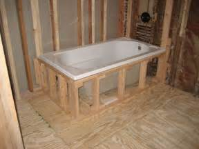 bathtub installation guide of drop in tub installation useful reviews