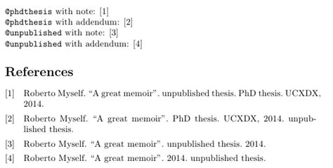 thesis references latex bibtex how to cite an unpublished thesis tex latex