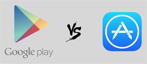 Play Store Vs Istore Play Store Vs App Store L Appli D Apple Rapporte
