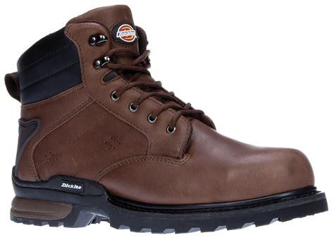 dickies boots steel toe mens dickies steel toe cap breathable mesh lining leather
