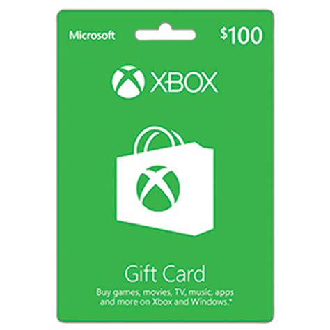 100 xbox microsoft gift card bj s wholesale club - 100 Xbox Gift Card