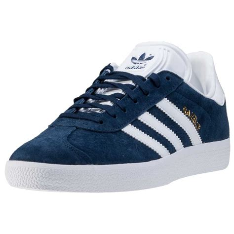 adidas gazelle womens trainers navy white new shoes ebay