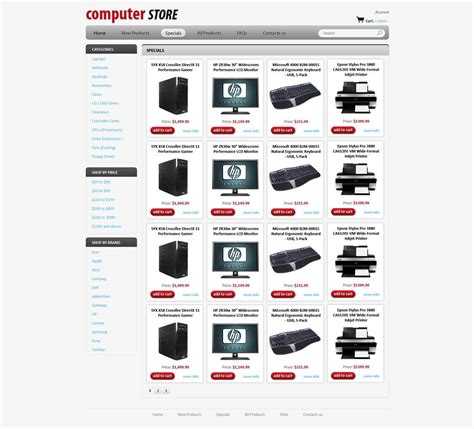 free store templates computers store web template free store templates