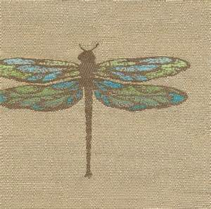 dragonfly aquamarine outdoor fabrics by