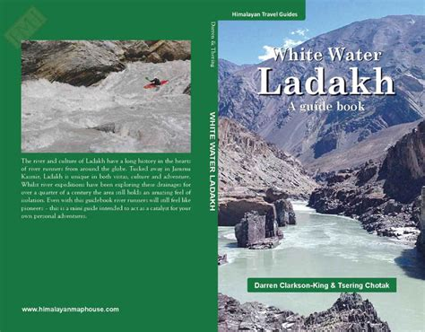 white water landings books white water ladakh guide book wwtcc kayak guide book