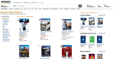 amazon top 10 ps4 to vastly outsell xbox over next 5 years ihs