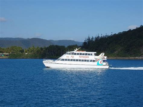 small boat licence queensland photo of daydream ferry free australian stock images