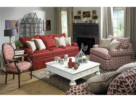paula deen sofa craftmaster paula deen by craftmaster living room three cushion sofa