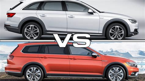 Alltrack Vs Allroad by Audi A4 Allroad Quattro Vs Vw Passat Alltrack