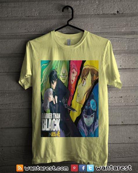 Kaos Band Arctic Monkeys Tshirt Arm04 15 best images about darker than black anime t shirts on
