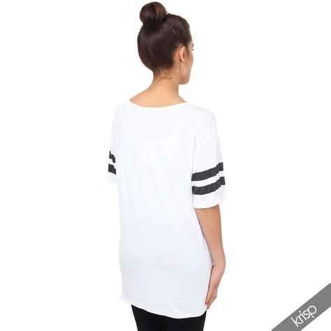 kila tunic ori by mlb womens american college print t shirt tunic top