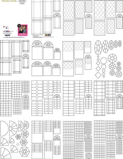templates  misc dollhouse miniature madness