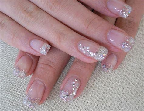imagenes de uñas blancas con piedras u 241 as decoradas las mejores ideas para tu manicura