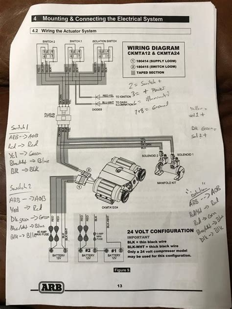 arb dual battery system wiring diagram efcaviation