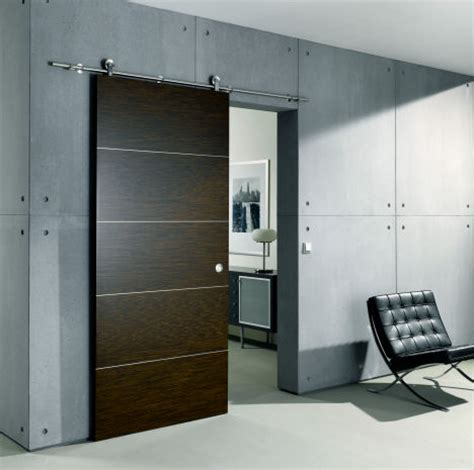 sliding door from bartels an exposed