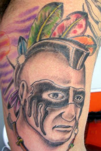 mohawk tribal tattoos mohawk indian tattoos