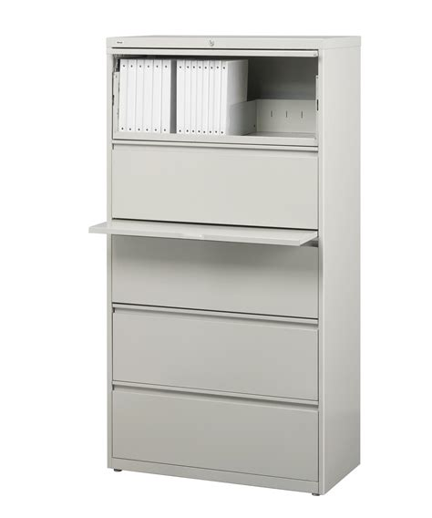 commercial lateral file cabinet hirsh hl10000 series 5 drawer commercial lateral file