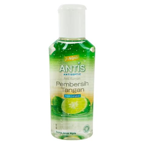 antis antiseptic gel botol  ml hand sanitaizer bpom grosir cirebon