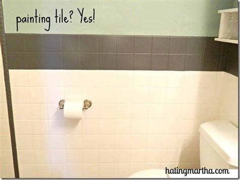 Can You Spray Paint Bathroom Tile Painting Tile A Tutorial From Nelliebellie