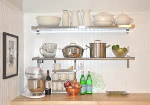 ikea kitchen cabinet shelves 30 best kitchen shelving ideas 3030 baytownkitchen