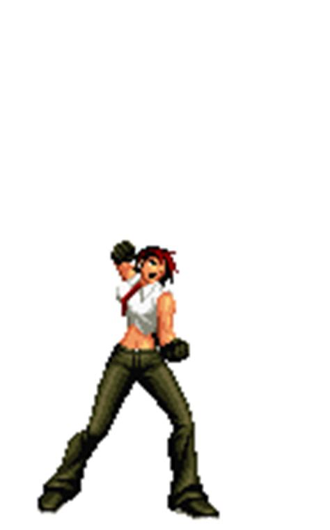 imagenes gif king of fighter vanessa king of fighters animations 4