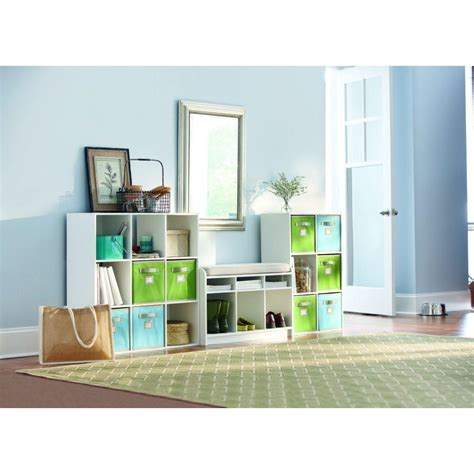 martha stewart living storage bench martha stewart living white 3 cubby storage bench