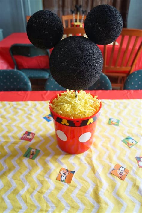 mickey mouse clubhouse centerpiece ideas mickey mouse clubhouse birthday decorations