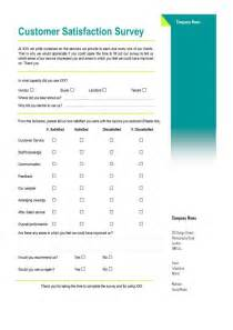 Customer Satisfaction Form Template by Customer Satisfaction Survey A Assistant Can