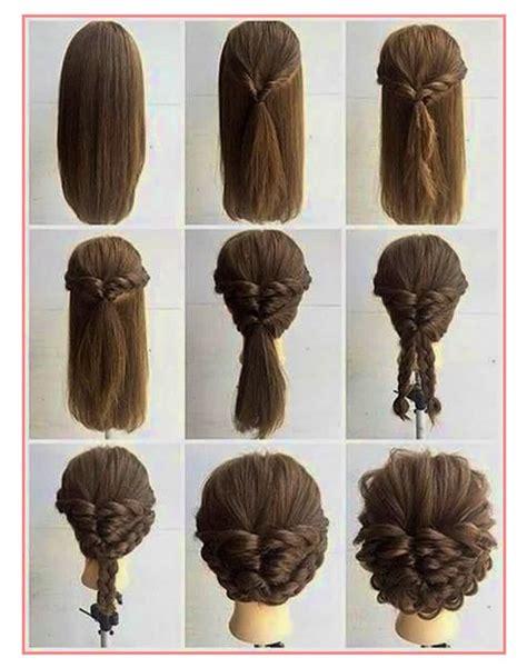 coiffure simple sur cheveux oh moving