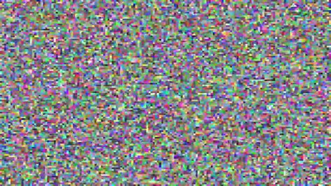 colors of noise color tv static white noise 1 minute