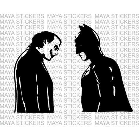 Bike Sticker Joker by Batman And Joker Decal Stickers Suitable For Cars Bikes
