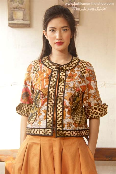 design blazer batik modern 17 best images about kebaya batik kerongsang on