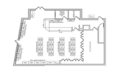 convenience store floor plan layout convenience store fixtures shelving convenience store