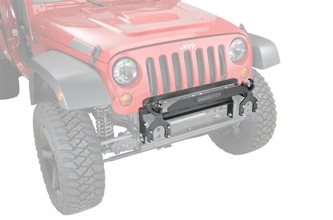 Jeep Yj Winch Plate Warn Winch Mounting Plate For 07 17 Jeep 174 Wrangler