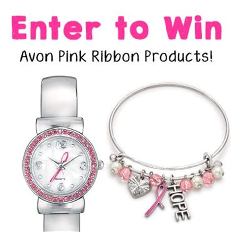 Pink Ribbon Giveaways - avon pink ribbon october breast cancer awareness 2017
